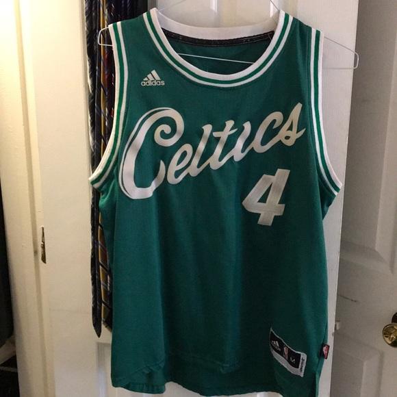the latest e05bf cfb7b Boston Celtics Christmas Day Isiah Thomas Jersey